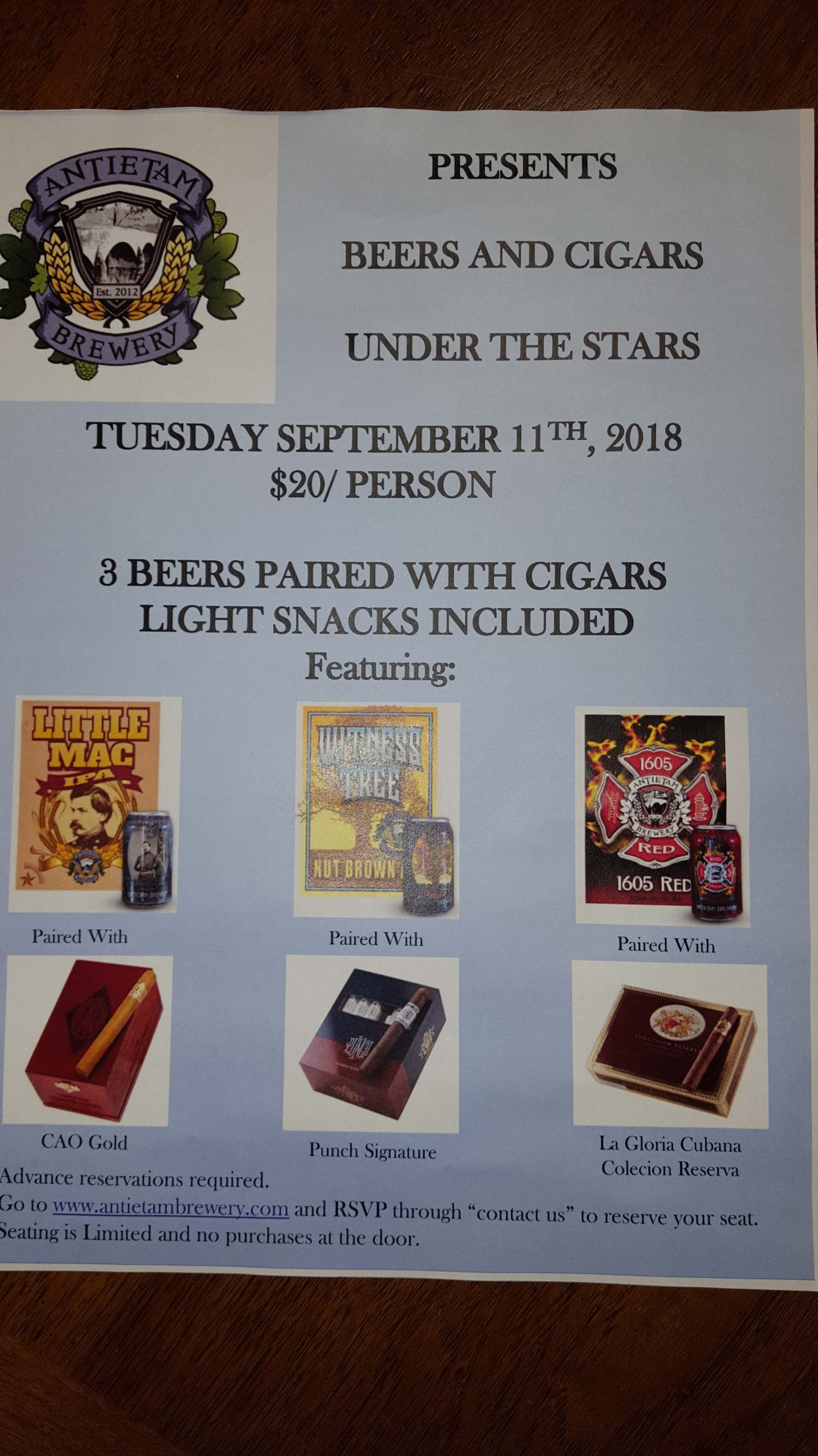 Beer and Cigars Poster